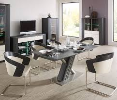 cool black and white chairs design feat modern small kitchen table with x shaped leg idea black white modern kitchen tables