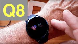 <b>Newwear Q8 Smartwatch</b> with Continuous Heart Rate and Blood ...