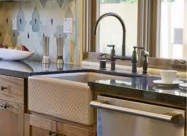 evenweave design on alcott undercounter sink apron front kitchen by kohler apron kitchen sink