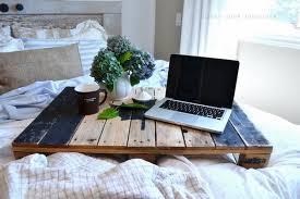 via bed in office