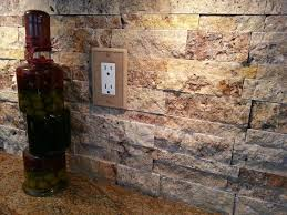 scabos split mesh mount stacked natural stone backsplash from arizona tile under the cabinet lighting self installed from home depot and stone outlet cabinet lighting backsplash home