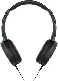 Sony XB550AP Extra <b>Bass Wired On</b>-Ear <b>Headphones</b> Black ...
