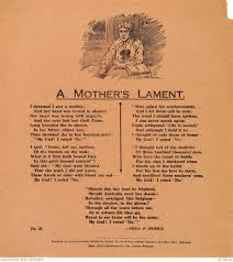 simpson prize n war memorial b fred p morris a mother s lament 1917