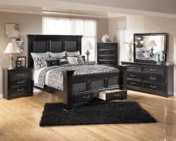ashley furniture cavallino bedroom set with mansion poster bed storage footboard bed only 79995 amazing brilliant bedroom bad boy furniture
