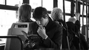 Image result for reading on the bus