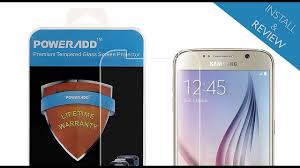 How to Install a <b>Tempered Glass Screen Protector</b> for Samsung ...