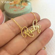 Discount <b>Customized</b> Necklaces Names