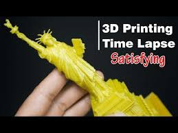 Making Plastic <b>Statue Of Liberty</b> | 3D <b>Printing</b> Time Lapse - YouTube
