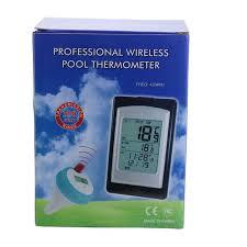 <b>Professional Wireless Pool</b> Thermometer 300 Feet <b>Wireless Digital</b> ...