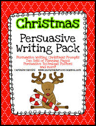 Persuasive Writing with a Holiday Twist Part    Freebie Included  Young Teacher Love