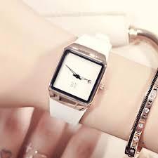 <b>GUOU</b> Luxury <b>Brand</b> Square Casual fashion Silicone strap women ...