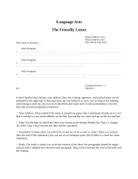 friendly letter format how to write a friendly letter samples friendly letter sample 03