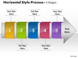 ppt horizontal flow of  stage free fishbone diagram powerpoint    ppt horizontal flow of   stage   fishbone diagram powerpoint template   design