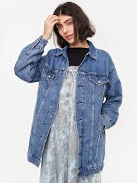 <b>Ganni x Levis Trucker</b> Dress - Medium Indigo | Goodhood