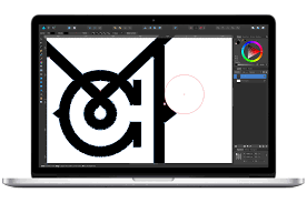 affinity designer professional graphic design software corner tool