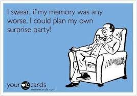 Hilarious joke quote about bad memory. For more funny short jokes ...