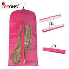 <b>Leeons</b> Wig Storage Bags For Bundles Black Yellow <b>Pink Purple</b> ...