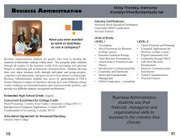 business administration hartford area career technology center