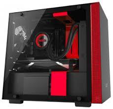 <b>Корпус</b> для компьютера <b>NZXT</b> H200 Black/red <b>Mini-Tower</b> • <b>Mini</b> ...