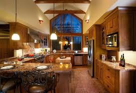 size western custom kitchen island ideas