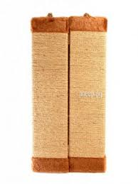 <b>Когтеточка Царапка верёвочная большая</b> угловая 57.5x28cm А327