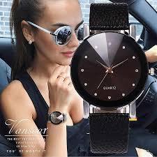 <b>Vansvar</b> Brand <b>Fashion Jelly Silicone</b> Women Dress Watches ...