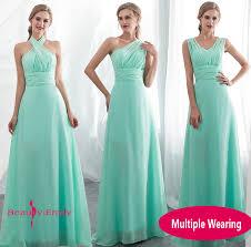 <b>Ladies Sleeveless Light Green</b> Long Chiffon A Line Bridesmaid ...