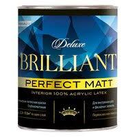 <b>Краска в/д PARADE</b> Brilliant matt=б.А 0,9л белая, арт.кр.Bril.m.бА0