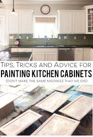 Kitchen Cabinet Painting Tips For Painting Kitchen Cabinets The Polka Dot Chair