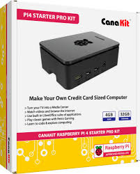 CanaKit <b>Raspberry Pi 4</b> 4GB Starter PRO <b>Kit</b> Premium Black Case ...