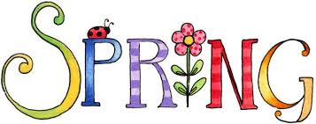 Image result for happy spring clipart