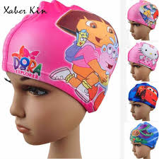 <b>Kids</b> swimming caps <b>Cartoon</b> Swimming Caps Baby Boys&Girls ...