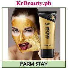 [<b>Farm Stay</b>] <b>24K Gold Snail</b> Peel Off Pack 100g | Shopee Philippines