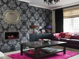 Silver And Purple Bedroom Brilliant Black And Silver Living Room Ideas Black And Silver