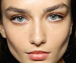 the matching vibrant cheeks and lips make up trend looks best when eye make up is