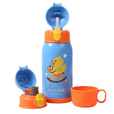 B.Duck <b>Children Thermal Bottle</b> with 3 Lids | Gearbest Mobile