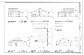 File Elevations  Section  and Floor Plan   Roberts Dolezal    File Elevations  Section  and Floor Plan   Roberts Dolezal Farmstead  Barn