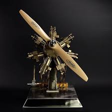 Cool ! Seven cylinder steam engine Miniature <b>Stirling engine</b> 'Star ...