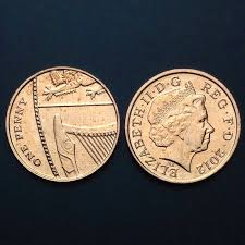Great Britain Coin, 1 Pence, UNC, Uncirculated, Europe, <b>Collection</b> ...