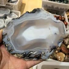 <b>120 140mm</b> Large <b>Agate Slice</b> Geode Polished Crystal Quartz ...