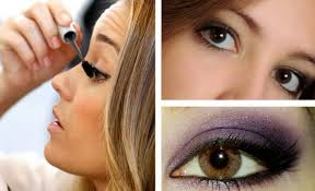 eye makeup for dark brown eyes