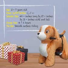 Rechargeable 6V/7A <b>Plush</b> Animal <b>Ride On</b> Toy for <b>Kids</b> (3 ~ 7 ...