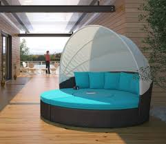 patio daybed with canopy circular outdoor wicker rattan patio daybed with canopy fresh garden d