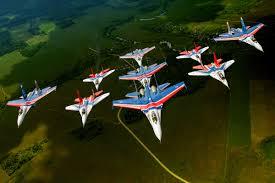 Пилотажные группы Стрижи и <b>Русские витязи</b> - 25 летний ...