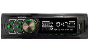 <b>Автомагнитола Soundmax SM-CCR3070F 1DIN</b> (Цвет: Black)