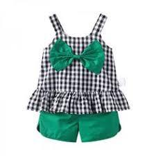 <b>Girls Clothing Sets Fashion</b> Sleeveless Solid O-Neck T-shirts+Pants ...