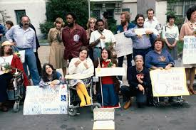 how americans changed disability law shareamerica protesters holding signs copy wally mc e corbis getty images