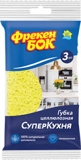 <b>Губка ФРЕКЕН БОК</b> Супер Кухня, целлюлозная 15401700 ...