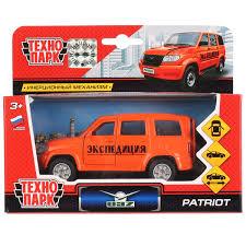 <b>Машинка</b>-игрушка <b>Технопарк УАЗ Patriot</b> Экспедиция SB-17-81 ...