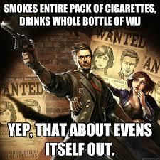 BioShock Infinite Logic memes   quickmeme via Relatably.com
